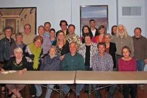 Board & neighbors honor George Heideman at FNC April 23, 2012