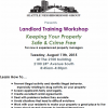 SNG Landlord Training 6-29-15