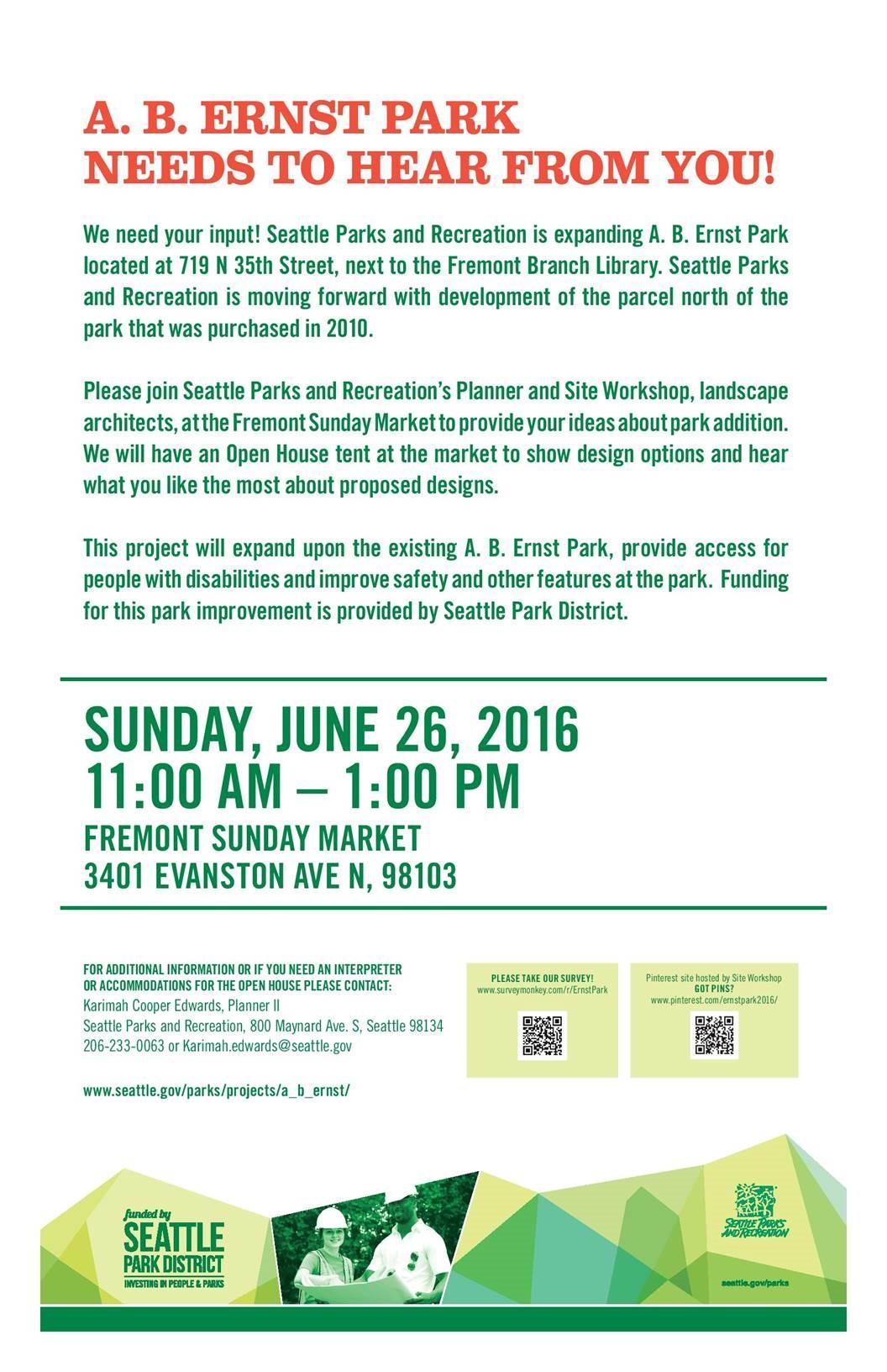 2016 Ernst Park meeting 6-15-16